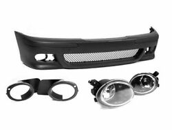 Painted Set Bmw E39 M5 Full Front Bumper With Fog Lights Pdc Grill Mesh M Sport