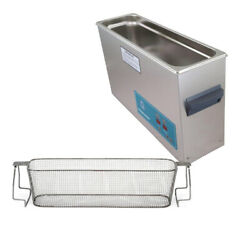 Crest P1200h-45 Ultrasonic Cleaner-heat And Timer-mesh Basket