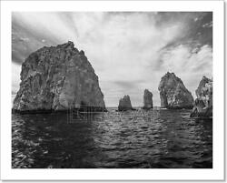 The Rock Formation Of Landand039s End Baja Art Print Home Decor Wall Art Poster - I