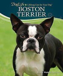 BOSTON TERRIER DOG LIFE Training Book LIFELONG CARE FOR YOUR DOG BOOK