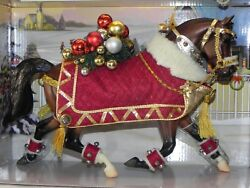New Breyer Holiday Horse 700111 Winter Belle 2011 15th in Series Christmas *READ