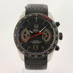 Tag Heuer Grand CARRERA 17 Automatic Chronograph +Box +Papers