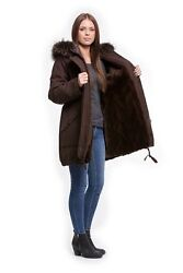 Mink Inner Lining Customize For Parka Or Stoffmantel