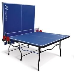 Tennis Table 2-piece Outdoor Ping Pong Family Sports Games Kids Play Indoor Fun
