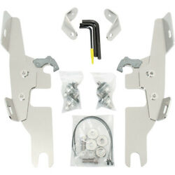 Memphis Shades Trigger Lock Windshield & Fairing Mount Kit Harley Switchback FLD