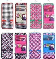 Travel Hanging Cosmetic Bag Toiletry Makeup Organizer Pocket Pouch Print Storage $10.95