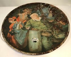 Lemp Charger Ca 1917 Modified Version Tin Tray Sir Falstaff Beer Advertising 24andrdquo