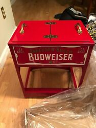 Budweiser Cooler By Classic Fabrications Collectible