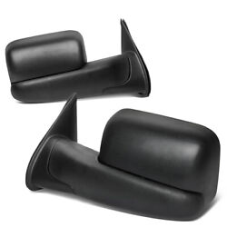 Fit 05-15 Toyota Tacoma Pair Powered Adjustment+heated Side View Towing Mirror