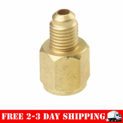 FJC 6015 R134A Refrigerant Tank Adapter 12 Inch Acme Female 14 Inch Male Flare