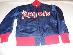 Authentic Vintage California Anaheim Angels Goodman And Sons Mlb Jacket Size 36