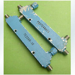 1pc Used Pasternack Pe2200-30 1-2ghz 30db Sma Female Directional Coupler  Gy