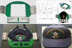 TAJIMA TOYOTA HAPPY SWF BROTHER EMBROIDERY MACHINE FLAT BASEBALL CAP FRAME HOOP