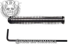 Ndz Stainless Steel Recoil Guide Rod Assembly For Glock Gen 1-3 - Choose Spring