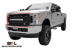 T-rex 6315481 Torch-al Blk Grille W/led Light Bar For 11-16 Ford F-250/f-350 Sd