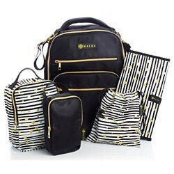 Diaper Bag Travel Backpack for Women: Large Water Repellent Bags for Mom and