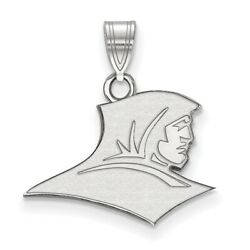 Providence College Friars School Mascot Pendant In 14k And 10k White Gold