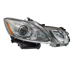For 07-11 Gs350/gs430/gs460 Front Headlight Headlamp W/o Washer Holes Right Side