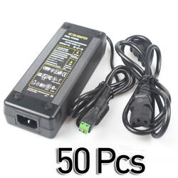 50 Pcs -LS39 AC 100-240V To DC 12V 10A Charger Power Supply Adapter For CCTV LED