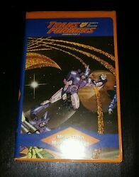 Transformers More Than Meets The Eye Rare Clamshell Vhs