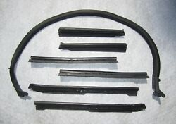 1968 1972 Gm A Body Convertible Roof Rail Weatherstrip Set | Free Shipping