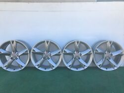 2009-16 Audi A5 S5 Rs5 A7 S7 19 Genuine Factory Oem Silver Wheels Rims Set Of 4