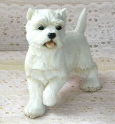 New WOB COUNTRY ARTISTS West Highland White Terrier Westie Dog Figurine #02017