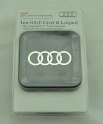 New Genuine Oem Audi Tow Hitch Cover And Lanyard Zaw092702b