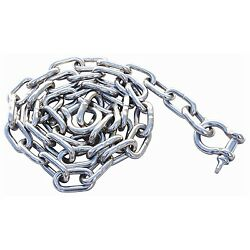 Boat Marine Anchor Chain Stainless Steel 3/8and039and039 X 6and039 W/ Shackles 7-1530