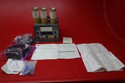 Bell And Howell Type 1-117 Vibration Meter And Transducers 115v Pn 09384/1-117-0105