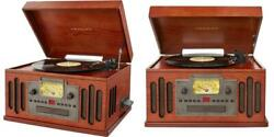 Crosley Cr704d-pa Musician 3-speed Turntable With Radio Cd/cassette...