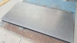Used Tmc Optical Table Steel Honeycomb Clean Top 77-119-02 1/8 Plates