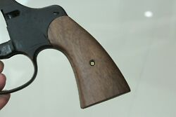 Walnut Wood Grips For Colt 1917 And 1909 Us Army New Service Aftermarket Nice Gift