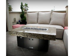 Cooke Santa Barbara 40 X 30 Contemporary Fire Pit Table - Limited Edition