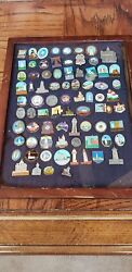 Vintage Lighthouse Pins More Than 125..very Collectible
