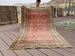 Beautiful Vintage 1960-1970and039s Chrome Dye Wool Pile Bunyan Rug 3andrsquo9andrdquox 6andrsquo1andrdquo