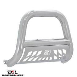 Aries 45-2004 4 Big Horn Bull Bar With Brshd Skid Plate For 07-18 Toyota Tundra