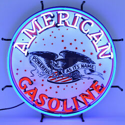 Wholesale Lot 6 Gas And Oil Neon Signs Gasoline Texaco Fire Sky Chief Red Indian