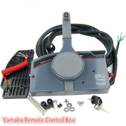 For Yamaha Outboard Remote Control Box 10 Pin Cable Right Side 703 PUSH Throttle