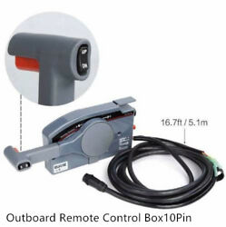 Yamaha Outboard Remote Control Box 10Pin Cable 703 Side PUSH
