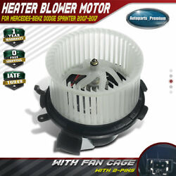 Blower Heater Motor wFan Cage for Mercedes-Benz Dodge Sprinter 2500 3500 76938