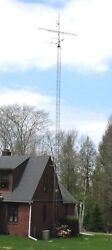 Antenna tower with motorized antenna mast  - HAM or TV - 56 feet and 8-foot mast