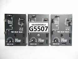 Ssac Hrd9320 Solid State Timer Reseller Lot Of 3 New