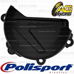 Polisport Black Clutch Cover Protector For Yamaha YZ 125 2018 Motocross Enduro