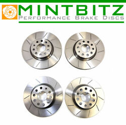 Bmw 3 Series [e46] 330i 00-05 Grooved Front And Rear Brake Discs