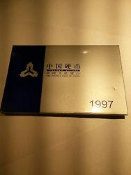 Bank Of China 1997 Official Mint Set Of 6 Coins,bu Rare