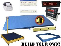 New Op-916 Ntep Certified Legal For Trade Floor Scale 10.000 Lb X 2 Lb