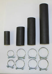 1934-1948 Dodge Plymouth Fargo Truck Radiator Hose Kit With New Hose Clamps