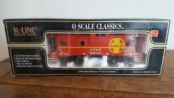 K-line Atsf Classic Extended Vision Caboose K613-1052 O Scale
