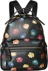 COACH Womens Campus Backpack 23 in Floral Printed Leather